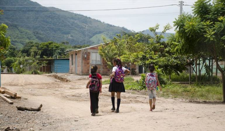 Estudiantes en el Catatumbo