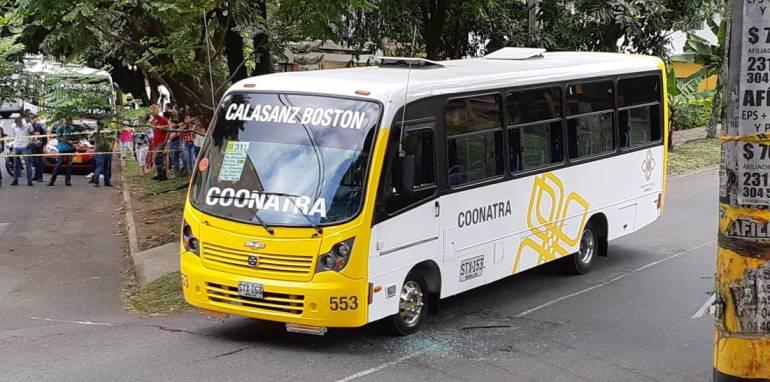 Homicidio, Medellin, coonatra, alcalde, calazans: Asesinado conductor de la empresa Coonatra en Calasanz
