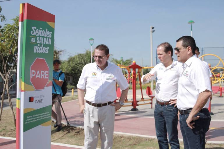 Parque de la Felicidad en Cartagena será modelo de educación vial nacional: Parque de la Felicidad en Cartagena será modelo de educación vial nacional