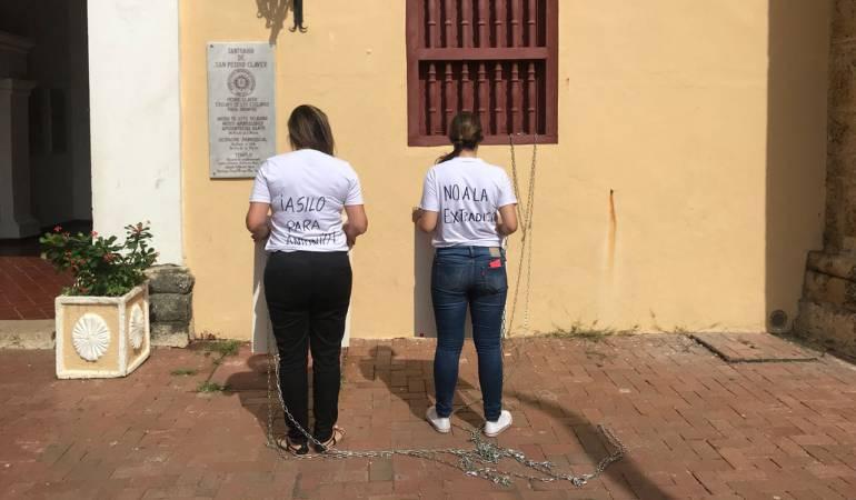 Familia venezolana clama asilo político para griego detenido en Cartagena