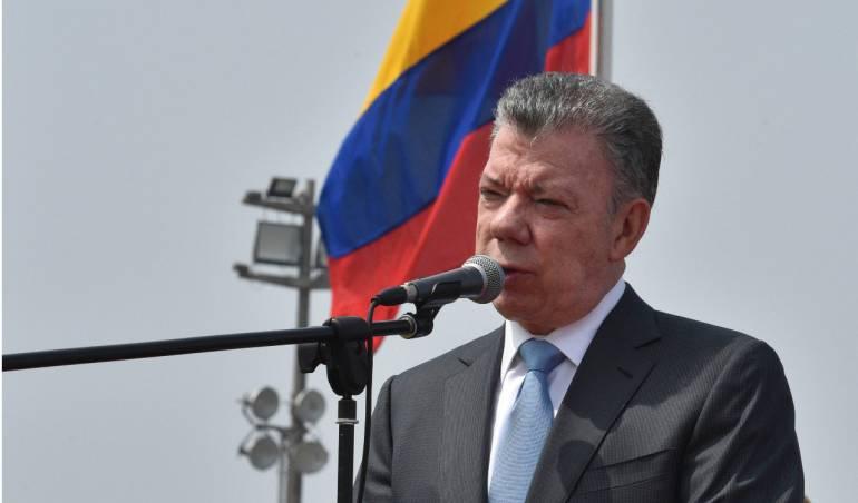 Garantías protesta social: Antes de irse Santos quiere dejar listas garantías para protesta social