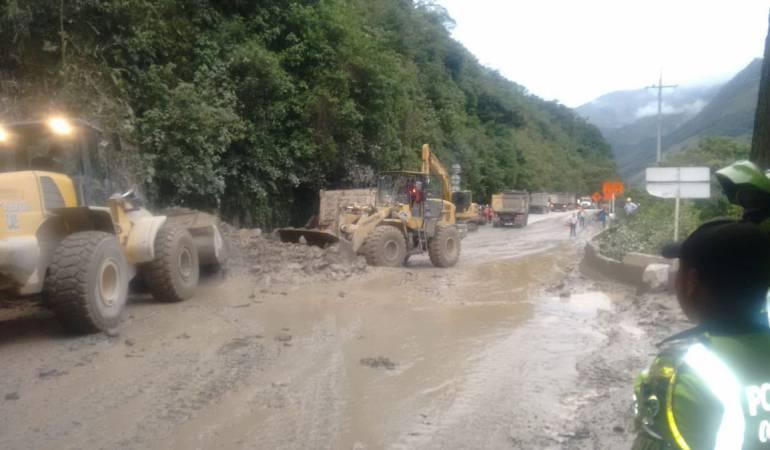 Cerrada nuevamente la vía Bogotá – Villavicencio