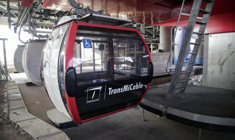 Transmilenio aéreo: El 27 de agosto IDU entregara cable aéreo a TransMilenio para adecuaciones