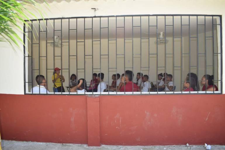 80% de avance trabajos de adecuación de siete colegios de Arjona: 80% de avance trabajos de adecuación de siete colegios de Arjona