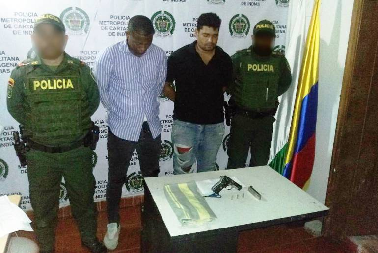 Fueron capturados tres presuntos piratas terrestres en el norte de Bolívar: Fueron capturados tres presuntos piratas terrestres en el norte de Bolívar