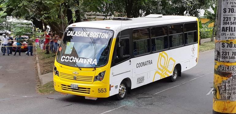 paro, coonatra, alacaldía, comuna, trece, agonía, buses, amenazas: Cuatro comunas afectadas por paro de buses en occidente de Medellín