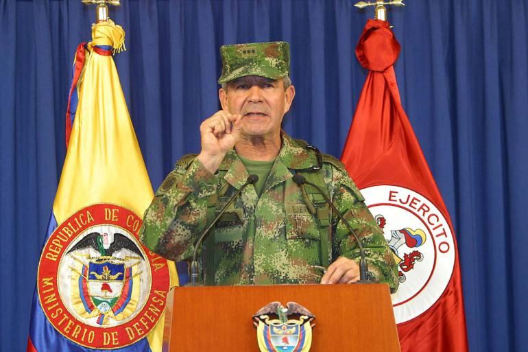 Mario, Montoya, falsos, psoitivos, comuna trece, ejército, orión, JEP: General Mario Montoya debe revelar la verdad: Defensores DDHH