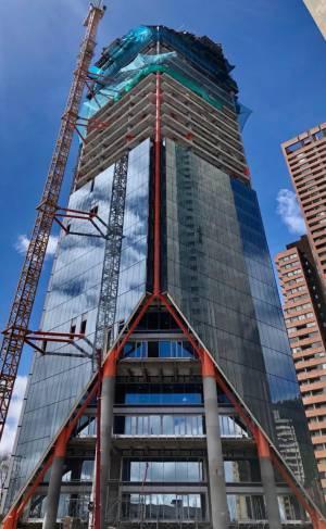 Atrio es el edificio que quiere destronar a BD de Bacatá, en la categoría del más alto del país.