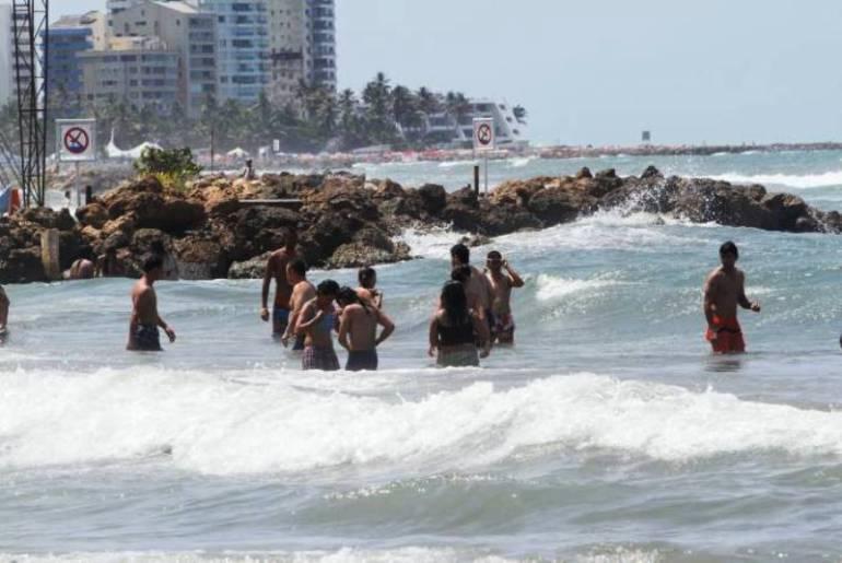 Fuertes vientos y aumento del oleaje en el Caribe las próximas 48 horas: Fuertes vientos y aumento del oleaje en el Caribe las próximas 48 horas