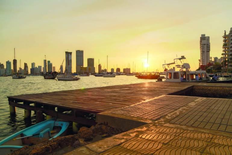 Inicia instalación de muelles de plástico reciclado en Bahía de Cartagena: Inicia instalación de muelles de plástico reciclado en Bahía de Cartagena