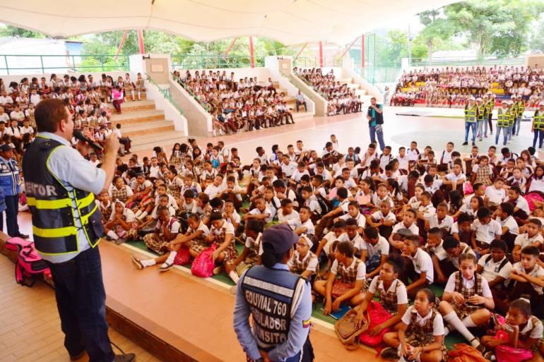 DATT capacita en seguridad vial a más de 3 mil niños en Cartagena: DATT capacita en seguridad vial a más de 3 mil niños en Cartagena
