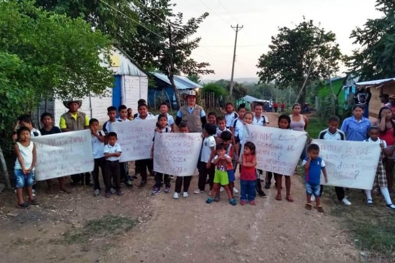 En seis meses se define eventual traslado de cabildo indígena de Cartagena: En seis meses se define eventual traslado de cabildo indígena de Cartagena