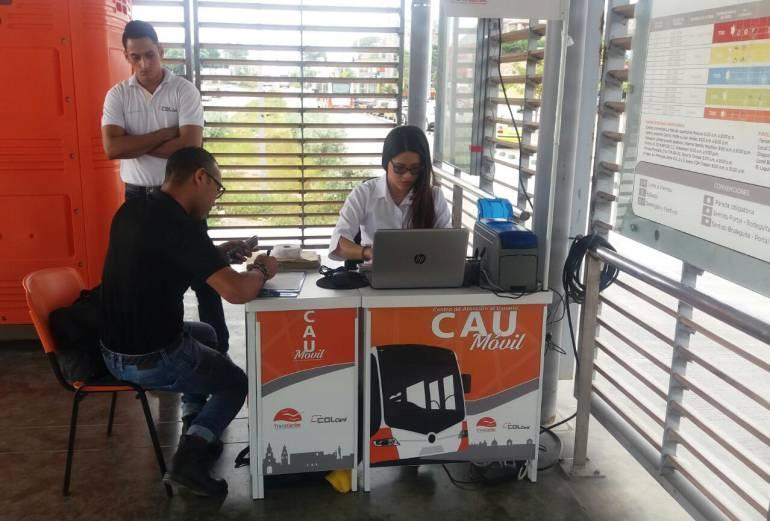 Avanza personalización de tarjetas de Transcaribe en Cartagena: Avanza personalización de tarjetas de Transcaribe en Cartagena