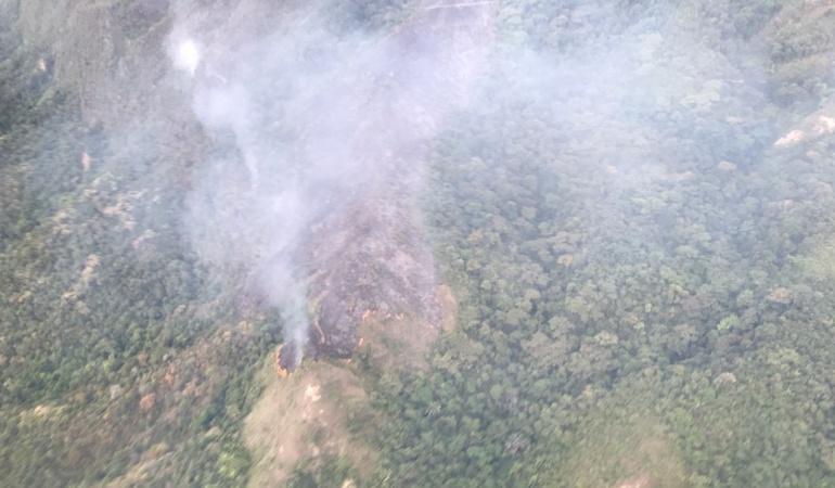 Incendios: Incendio forestal afecta dos municipios del Tolima