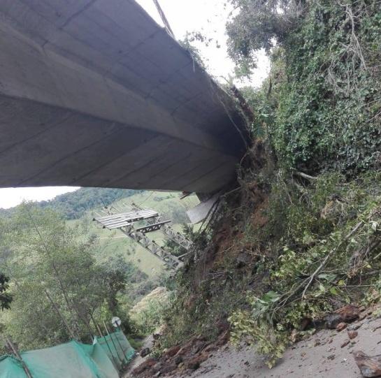 Cierre vía La Línea: Invías reporta cierre total en Vía La Línea