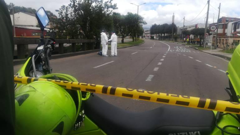 Inseguridad Bogotá: Tiroteo entre ladrones y policías en Bogotá deja un hombre muerto