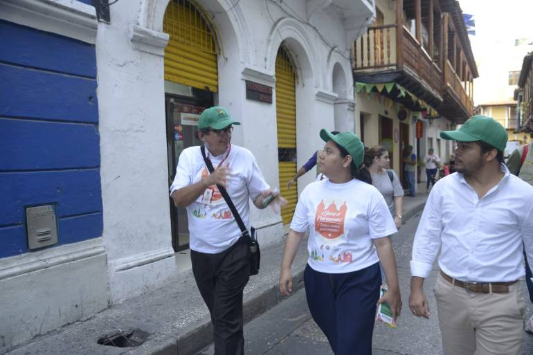 Jornada pedagógica en Centro Histórico de Cartagena sobre normas de avisos: Jornada pedagógica en Centro Histórico de Cartagena sobre normas de avisos