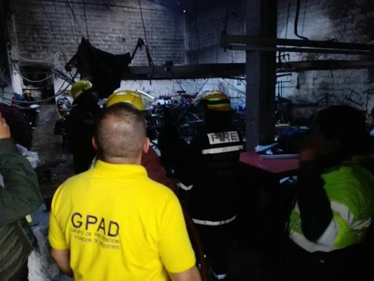 Incendio en Ibagué: Millonarias pérdidas dejó incendio en Ibagué