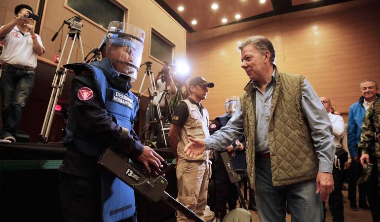 Cese al fuego con el ELN: El cese al fuego con el ELN solo tiene dos obstáculos: Santos
