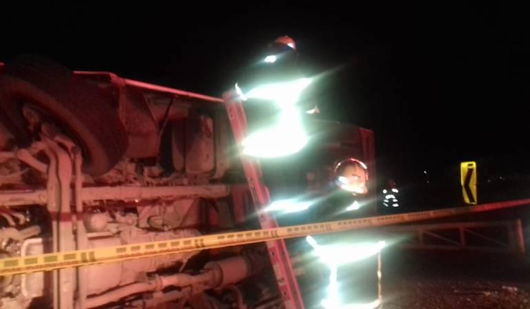 Más de 20 heridos deja accidente vial en Cundinamarca