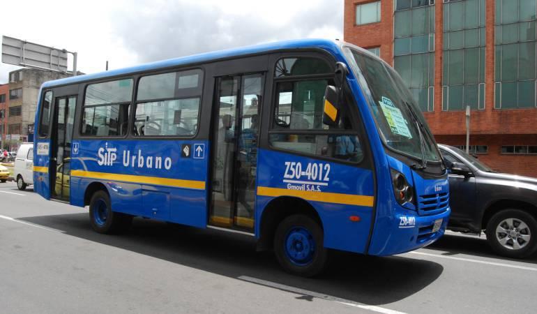 Conductor de bus del SITP fue baleado en medio de riña