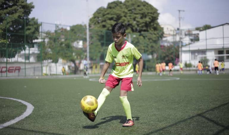 420 niños y niñas ingresaron a escuelas de formación deportiva en Cartagena