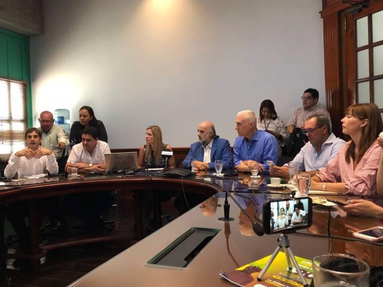 Reunión de los gremios en Barranquilla.