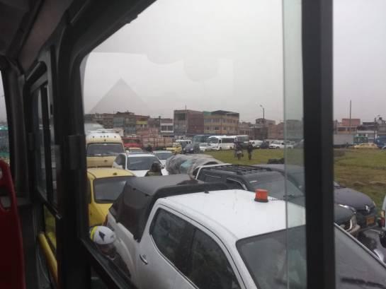 Movilidad Bogotá: Problemas de movilidad por lluvias en Bogotá