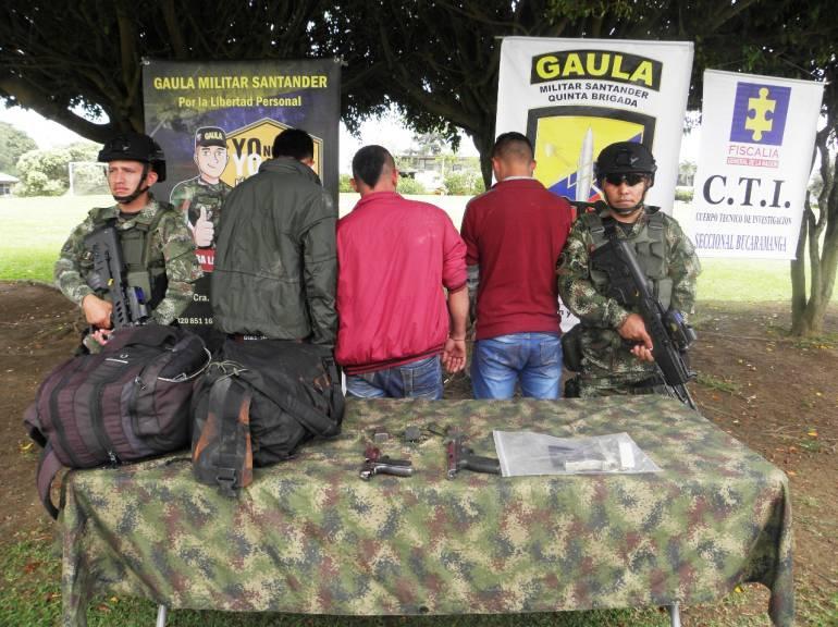 SECUESTRO CARCEL GANADERO COMERCIANTE VIA CUROS MALAGA GAULA SANTANDER: Cárcel para secuestradores de comerciante en Santander