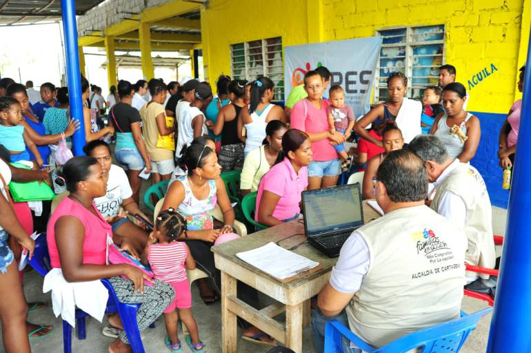 Oferta institucional de atención a la comunidad de Pontezuela en Cartagena: Oferta institucional de atención a la comunidad de Pontezuela en Cartagena