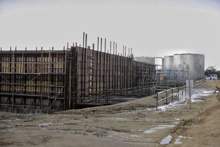 Avances de la ampliación de la planta potabilizadora El Bosque en Cartagena: El próximo año estará operando planta potabilizadora El Bosque en Cartagena
