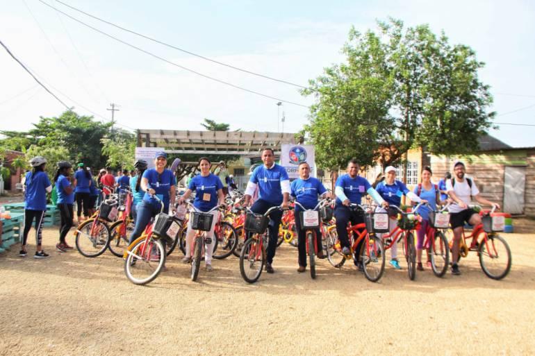 Barrios de Cartagena se siguen preparando frente al cambio climático