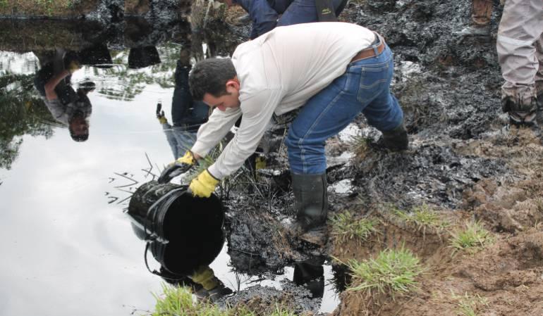 Emergencias ambientales: Controlada emergencia por derrame de crudo en Serranía Las Quinchas: Ocensa