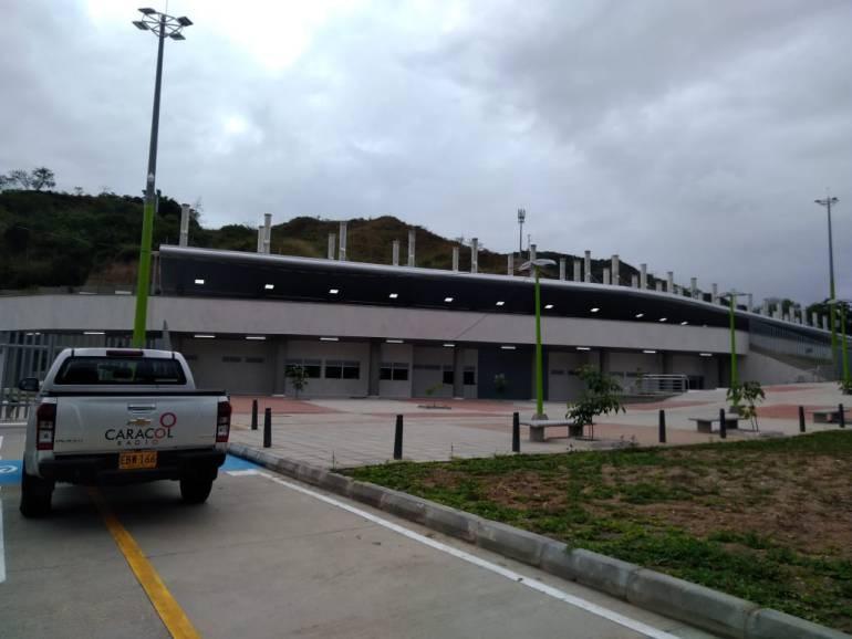 METROLINEA SELLAMIENTO GIRÓN PORTAL IRREGULARIDADES: Portal de Girón se construyó bajo planos aprobados: Metrolínea