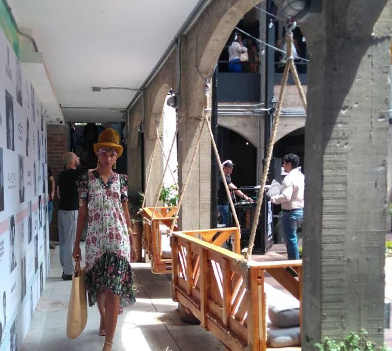 Colombiamoda: Modelos en Colombiamoda, entre el agotamiento y la satisfacción