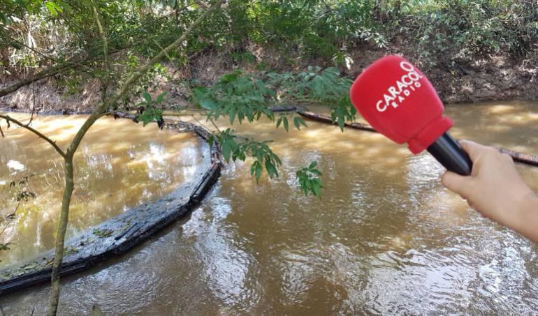 Derrame de petróleo: Falla atípica generó fuga de 50 galones de crudo en Puerto Boyacá: Ocensa