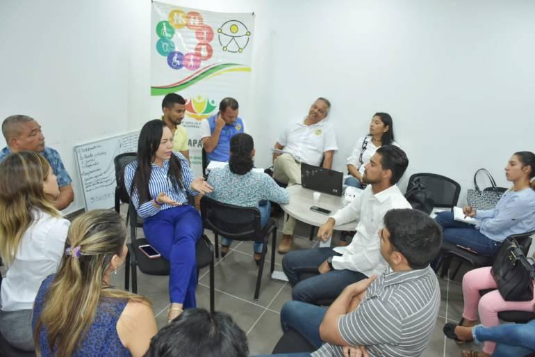 Alcaldía de Cartagena trabaja por la inclusión de personas con discapacidad: Alcaldía de Cartagena trabaja por la inclusión de personas con discapacidad