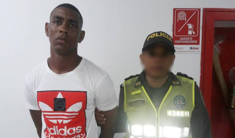 Atentado a policía en Cartagena: Envían a la cárcel en Cartagena a alias 'Gordo Nike'