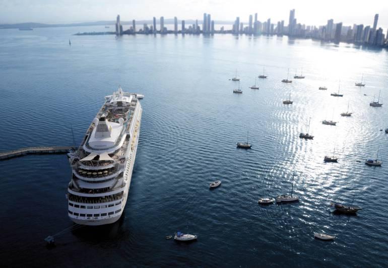 Zonas de fondeo en Cartagena: Dimar modificó dos zonas de anclaje y creó otra en Cartagena