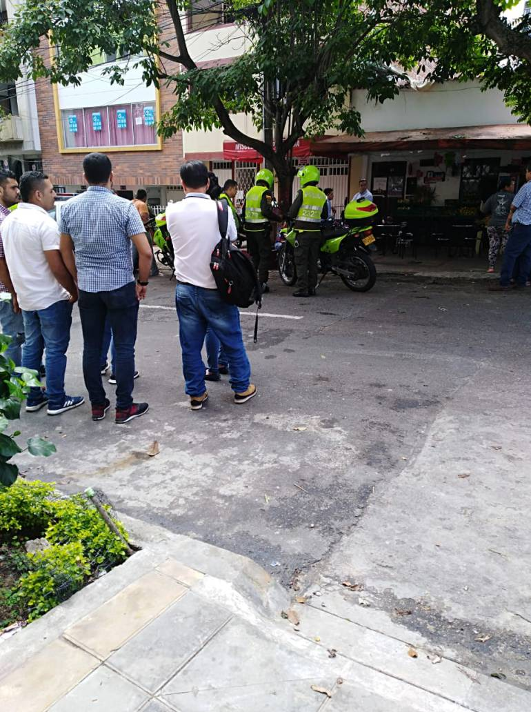 ROBO SAN ALONSO HERIDO CAPTURADOS BUCARAMANGA: Dos capturados tras intento de robo en el barrio San Alonso