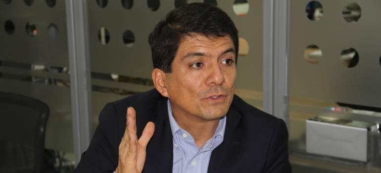 Alcalde de Popayán, César Cristian Gómez.