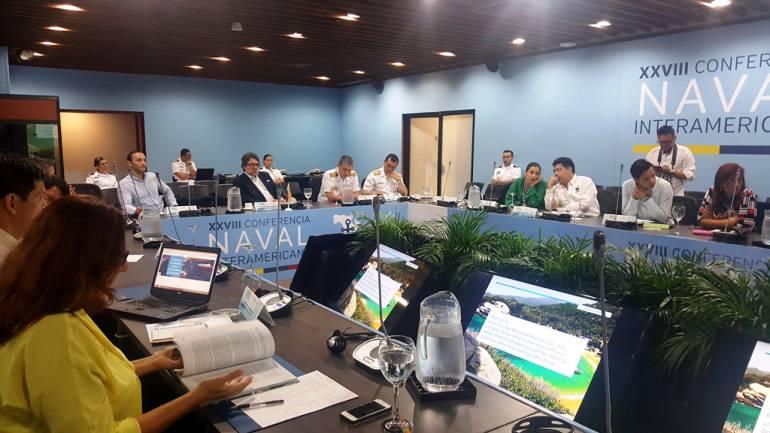 Dimar participó en la Comisión Colombiana del Océano en Cartagena: Dimar participó en la Comisión Colombiana del Océano en Cartagena