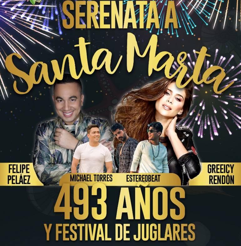Definidos artistas musicales para conciertos en Fiesta del Mar 2018