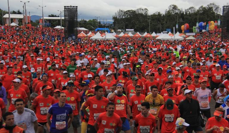 Cierres viales Bogotá domingo: Cierres viales para este domingo por la Media Maratón de Bogotá