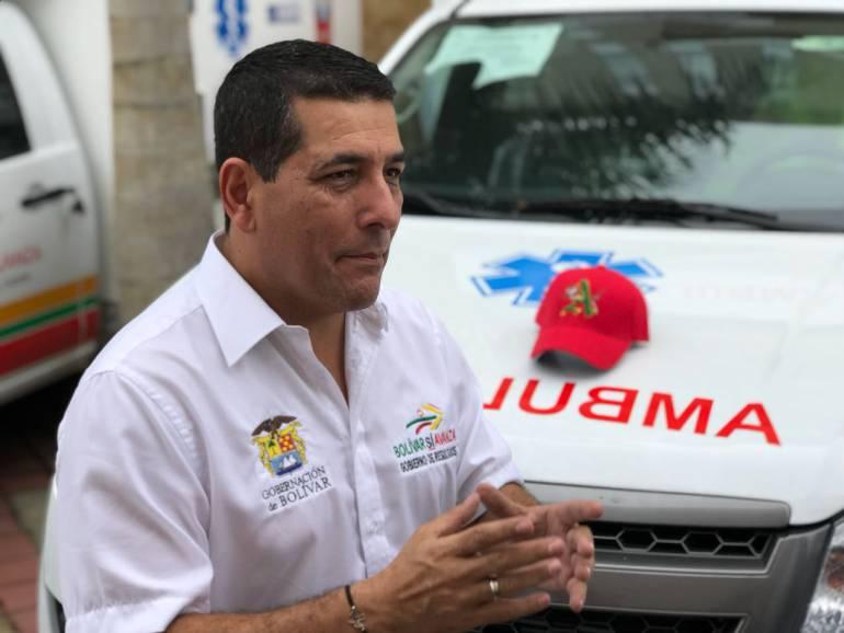 """""""Yolanda Wong le ha dado confianza a la gente"""": Gobernador de Bolívar: """"Yolanda Wong le ha dado confianza a la gente"""": Gobernador de Bolívar"""