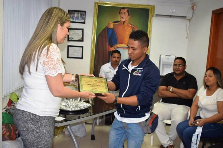 Alcaldía de Arjona hace reconocimiento a su deportista Jairo García: Alcaldía de Arjona hace reconocimiento a su deportista Jairo García