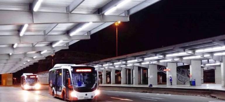 Detienen pasajero de Transcaribe en Cartagena que se estaba masturbando: Detienen pasajero de Transcaribe en Cartagena que se estaba masturbando