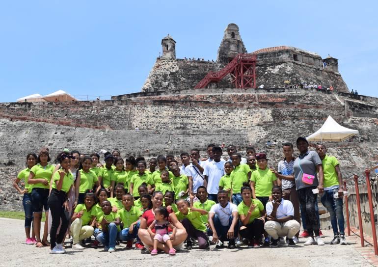 Récord de visitantes en las Fortificaciones de Cartagena este domingo: Récord de visitantes en las Fortificaciones de Cartagena este domingo