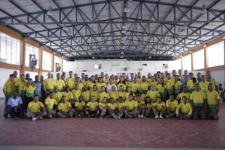 Capacitan a docentes del instituto de deportes de Cartagena: Capacitan a docentes del instituto de deportes de Cartagena