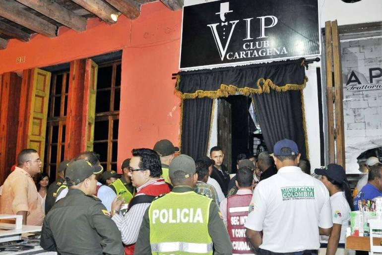 Autoridades cierran definitivamente polémico bar en Centro de Cartagena: Autoridades cierran definitivamente polémico bar en Centro de Cartagena